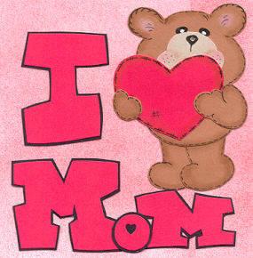 I love my mom - cards